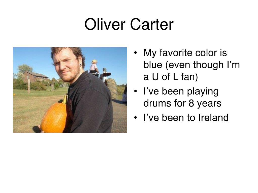 Oliver Carter