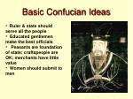 basic confucian ideas