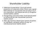 shareholder liability13