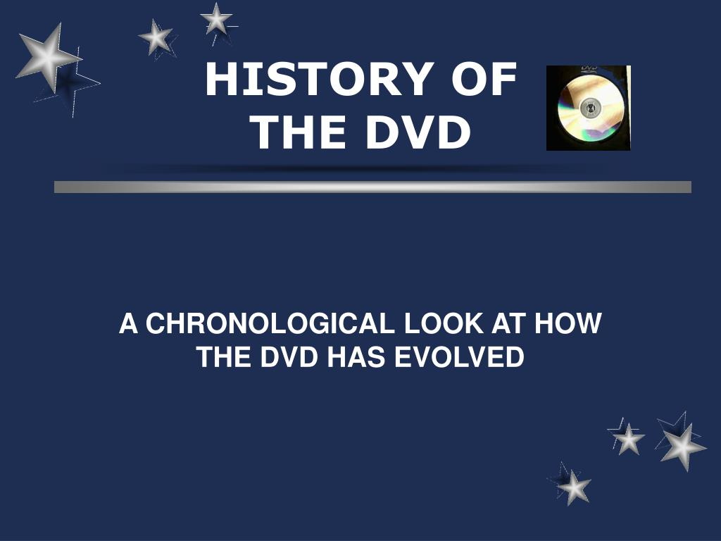history of the dvd l.