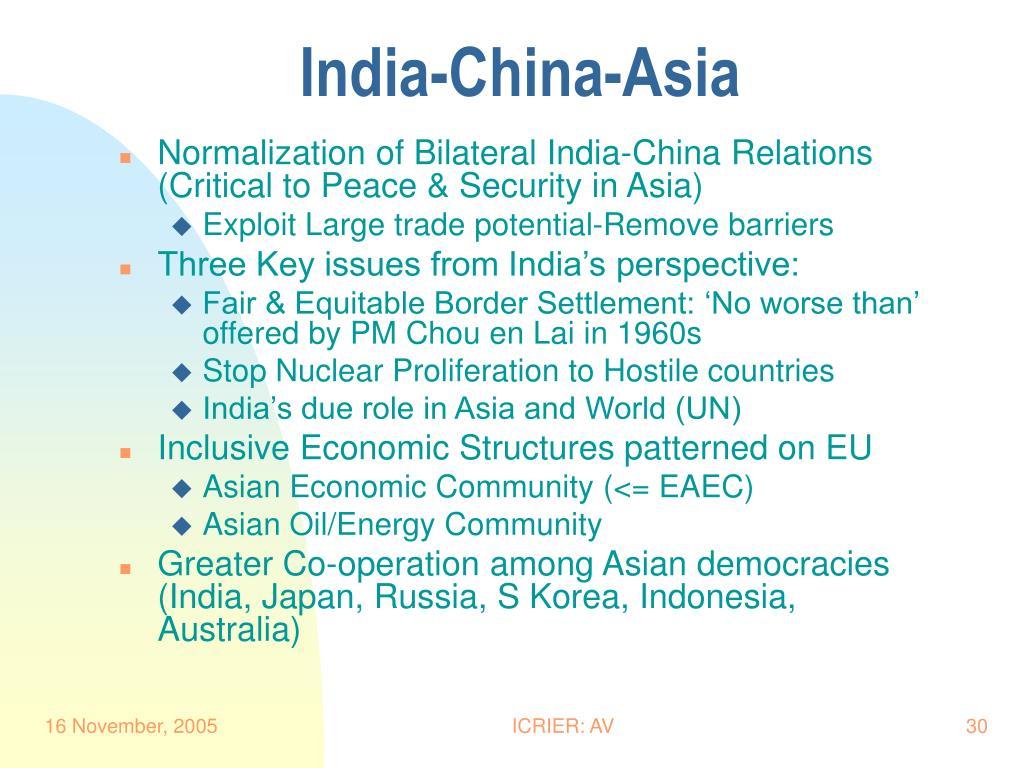 India-China-Asia