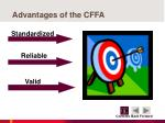 advantages of the cffa