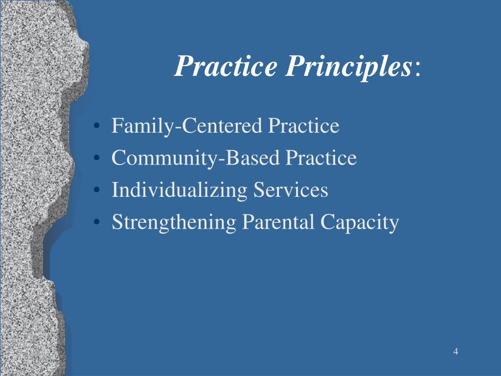 Family-Centered Practice