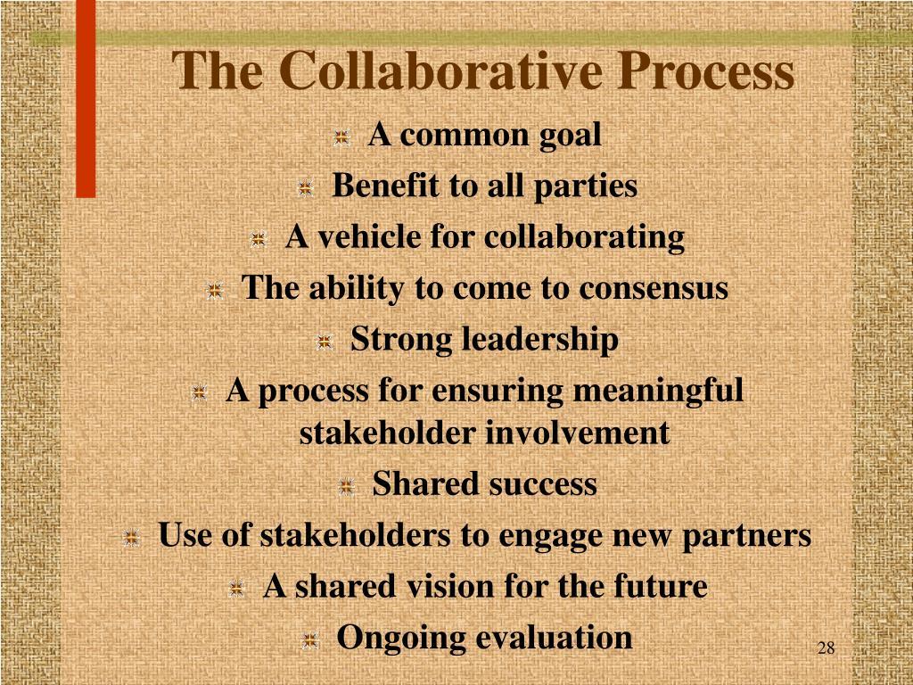 The Collaborative Process