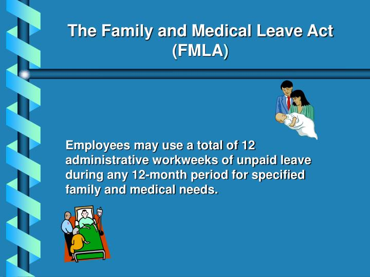 an essay of family medical leave act Unlike medical leave policies in other industrialized nations, the us policy has a family focus rather than a specification toward pregnancy and early child care the first iterations of the legislation (eg, the parental and medical leave act) were formulated in response to the increasing labor force.