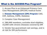 what is the access plus program