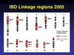 ibd linkage regions 2005