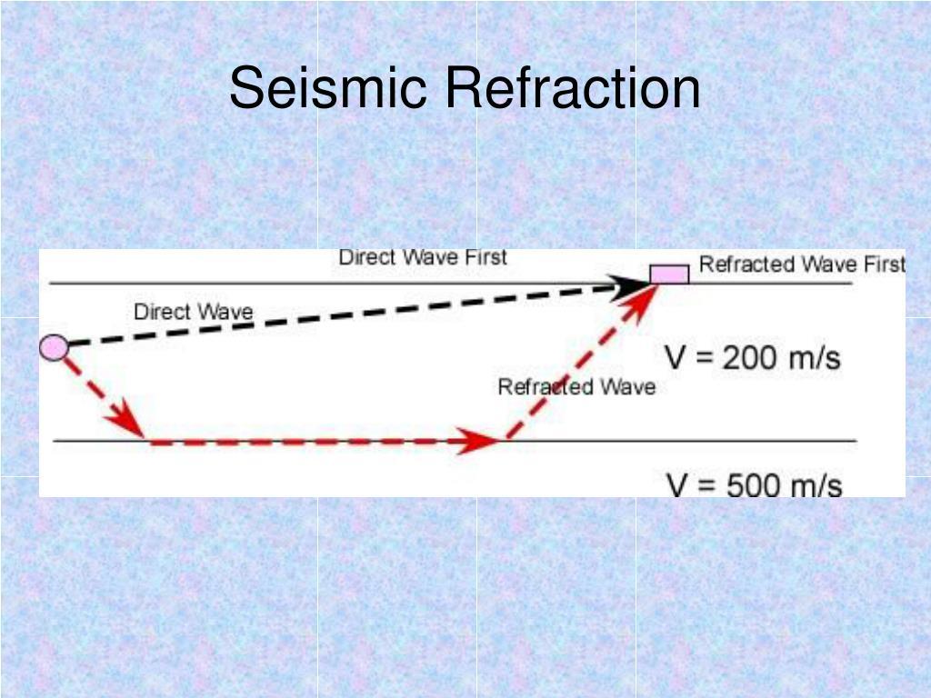seismic refraction l.