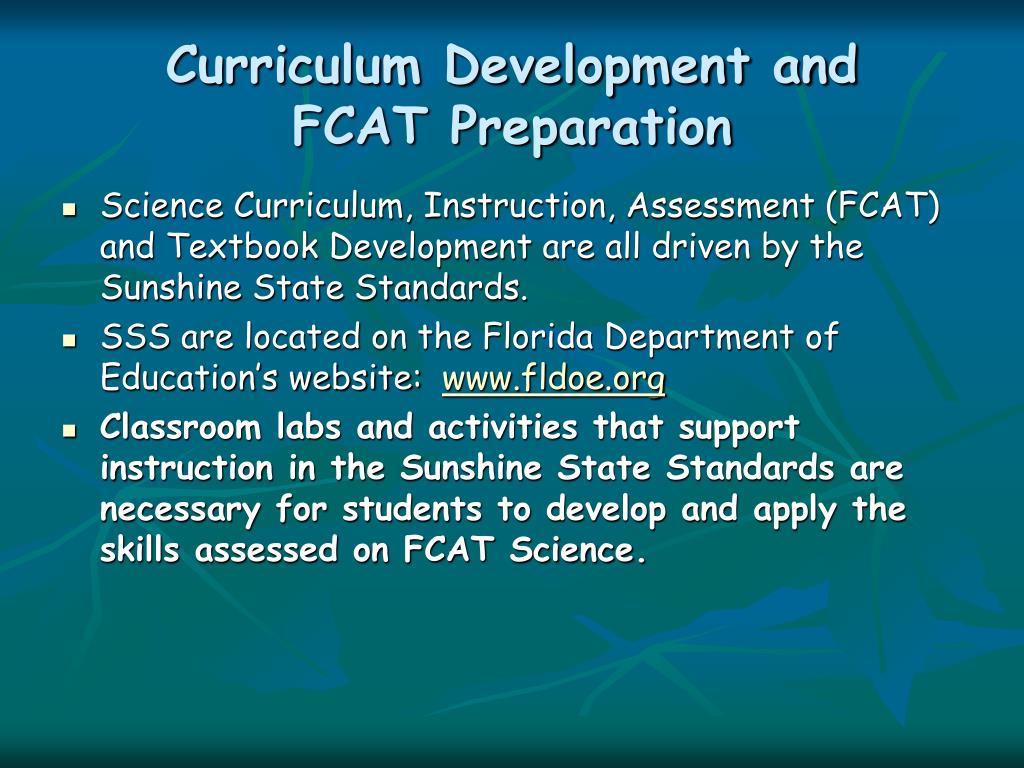 Curriculum Development and