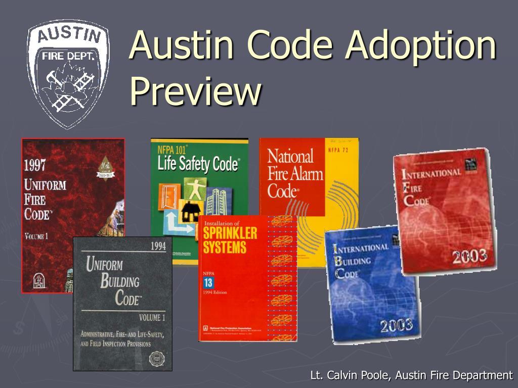 austin code adoption preview l.