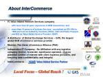 about intercommerce