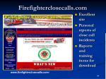 firefighterclosecalls com
