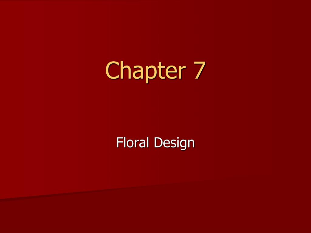chapter 7 l.