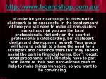 http www boardshop com au