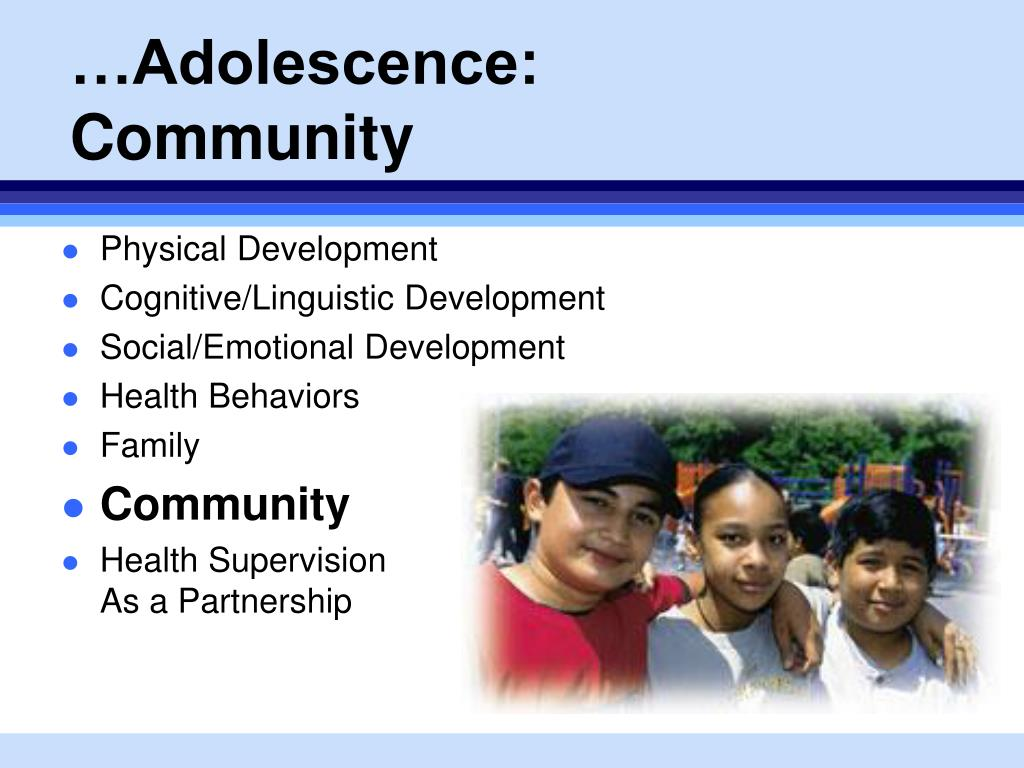 adolescence physical and cognitive development