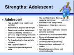 strengths adolescent