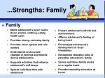 strengths family