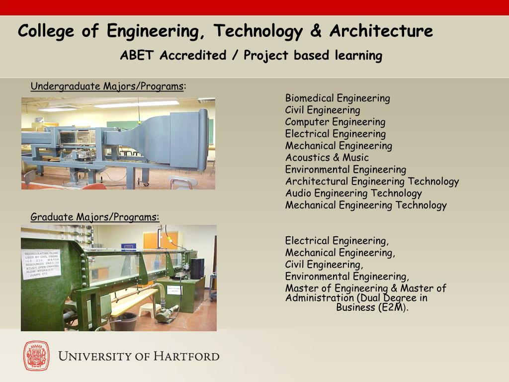 College of Engineering, Technology & Architecture