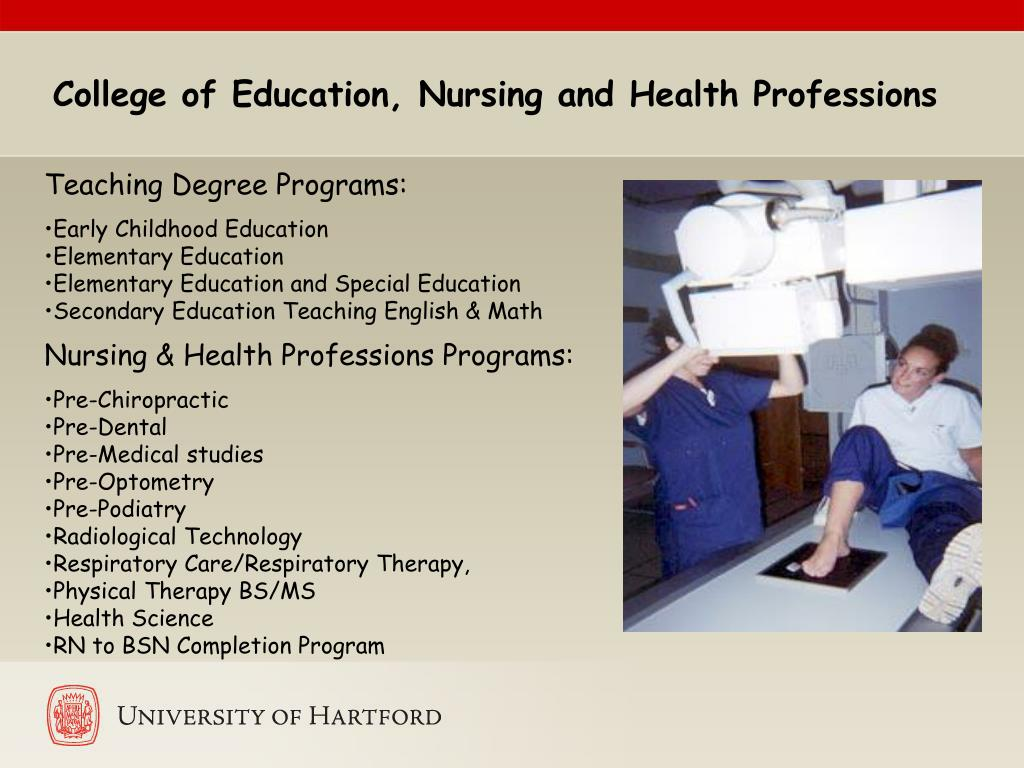 College of Education, Nursing and Health Professions