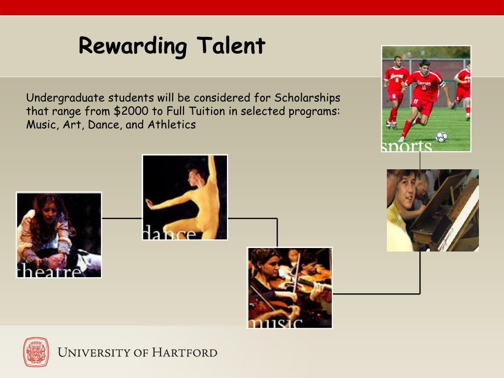 Rewarding Talent