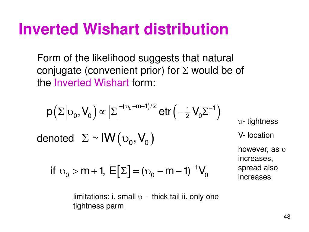 Inverted Wishart distribution
