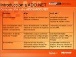 introducci n a ado net comparaci n entre ado y ado net8