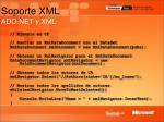 soporte xml ado net y xml31