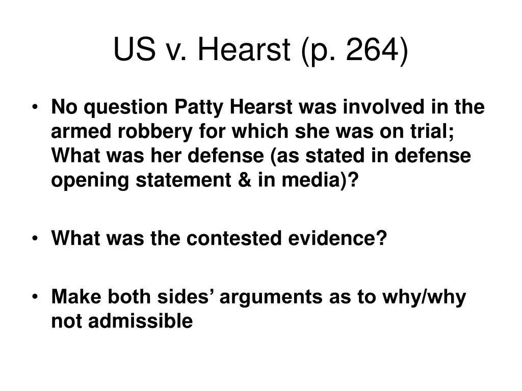 US v. Hearst (p. 264)