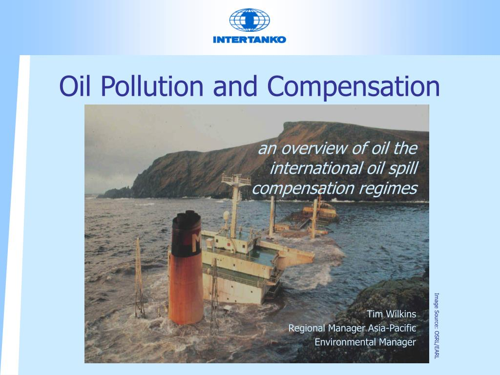 oil pollution and compensation l.