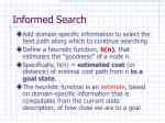 informed search8