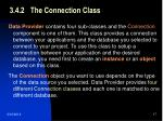 3 4 2 the connection class