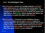 3 4 4 the dataadapter class