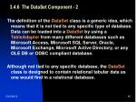 3 4 6 the dataset component 2