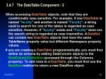3 4 7 the datatable component 2