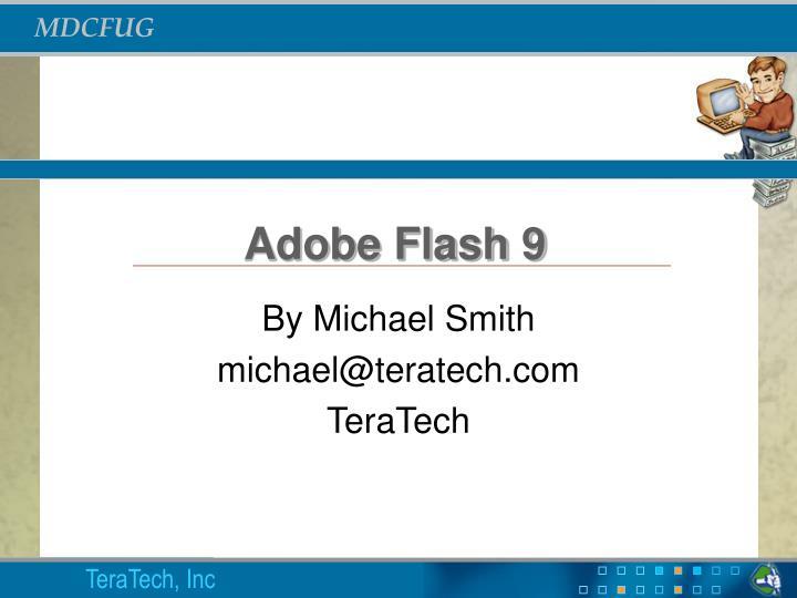Adobe flash 9