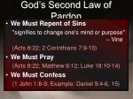 god s second law of pardon9