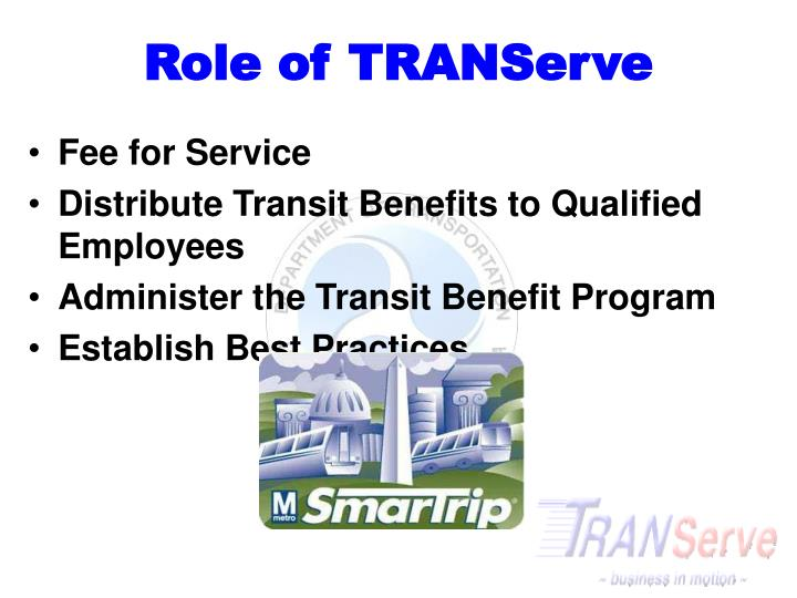 Role of TRANServe