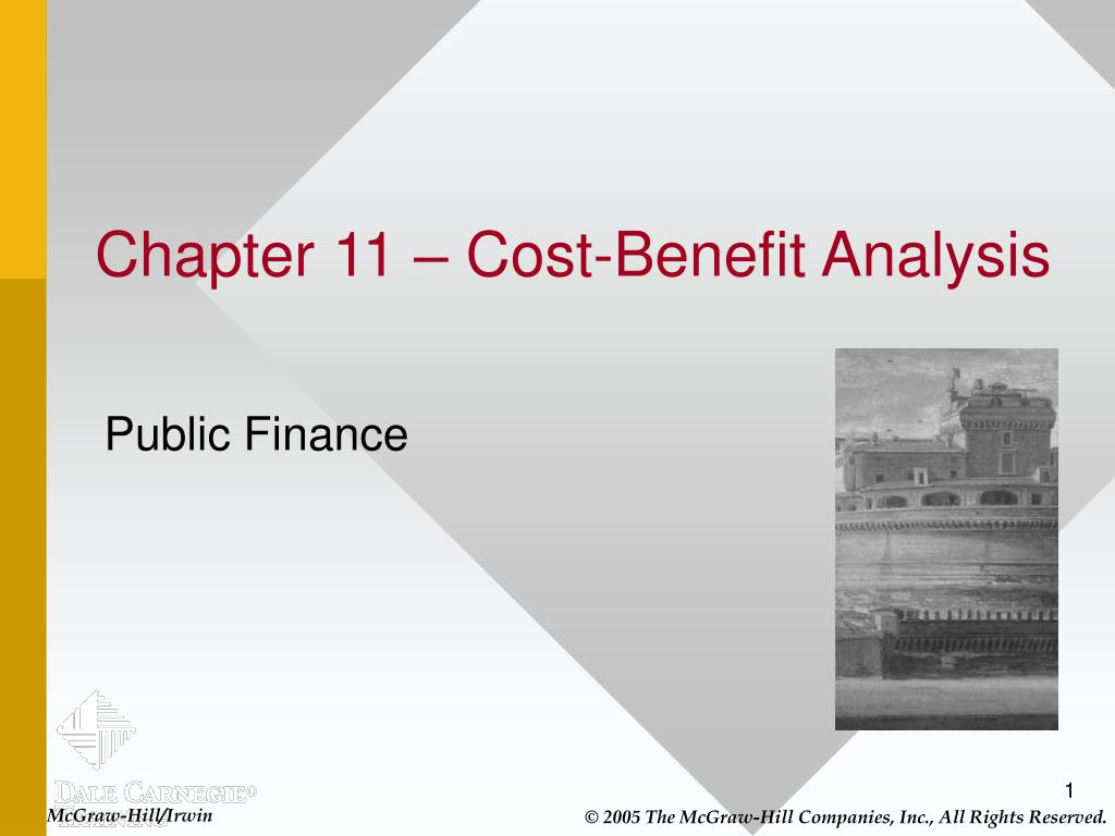 chapter 11 cost benefit analysis l.
