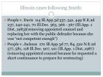 illinois cases following smith