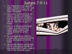 judges 7 9 11