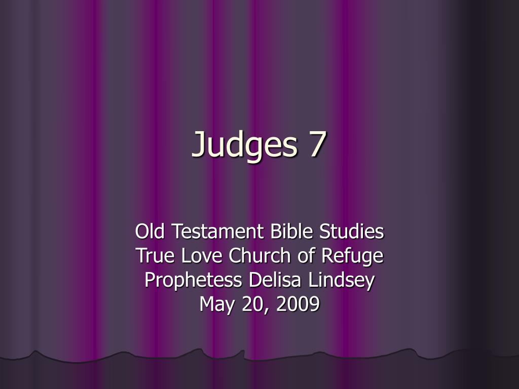 judges 7 l.