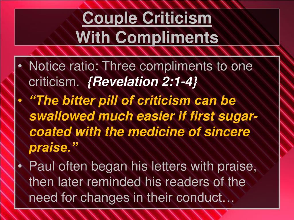 Couple Criticism
