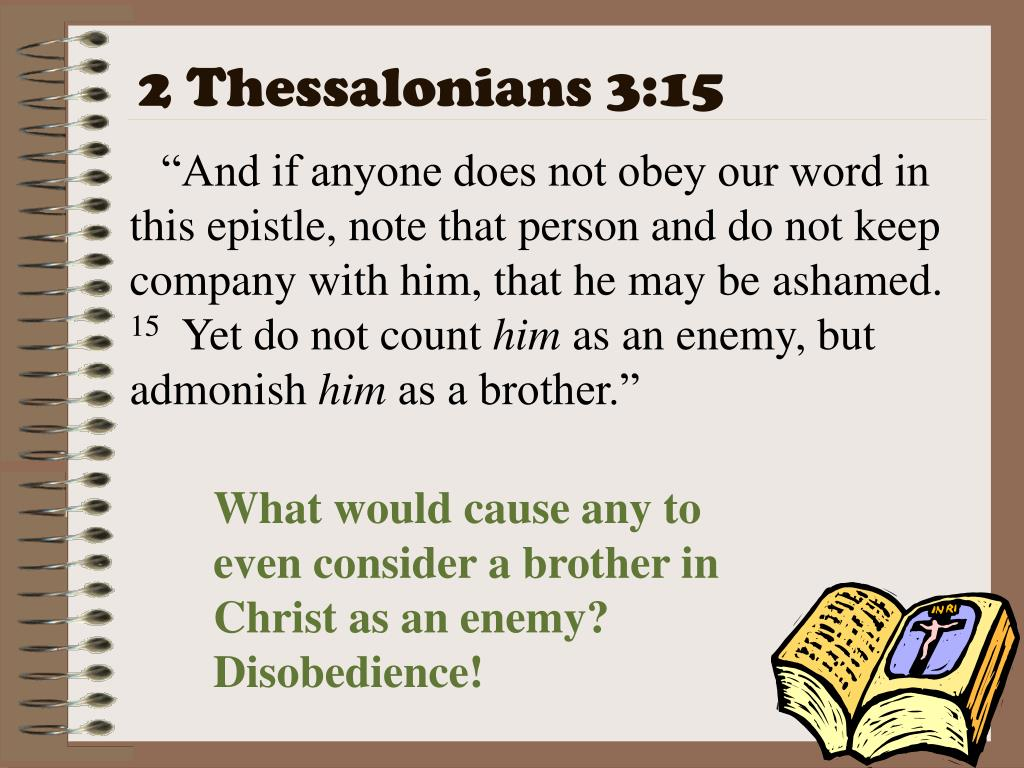 2 Thessalonians 3:15