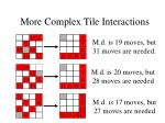 more complex tile interactions