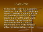 legal terms47