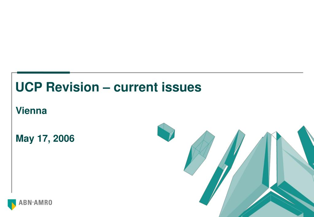 ucp revision current issues l.