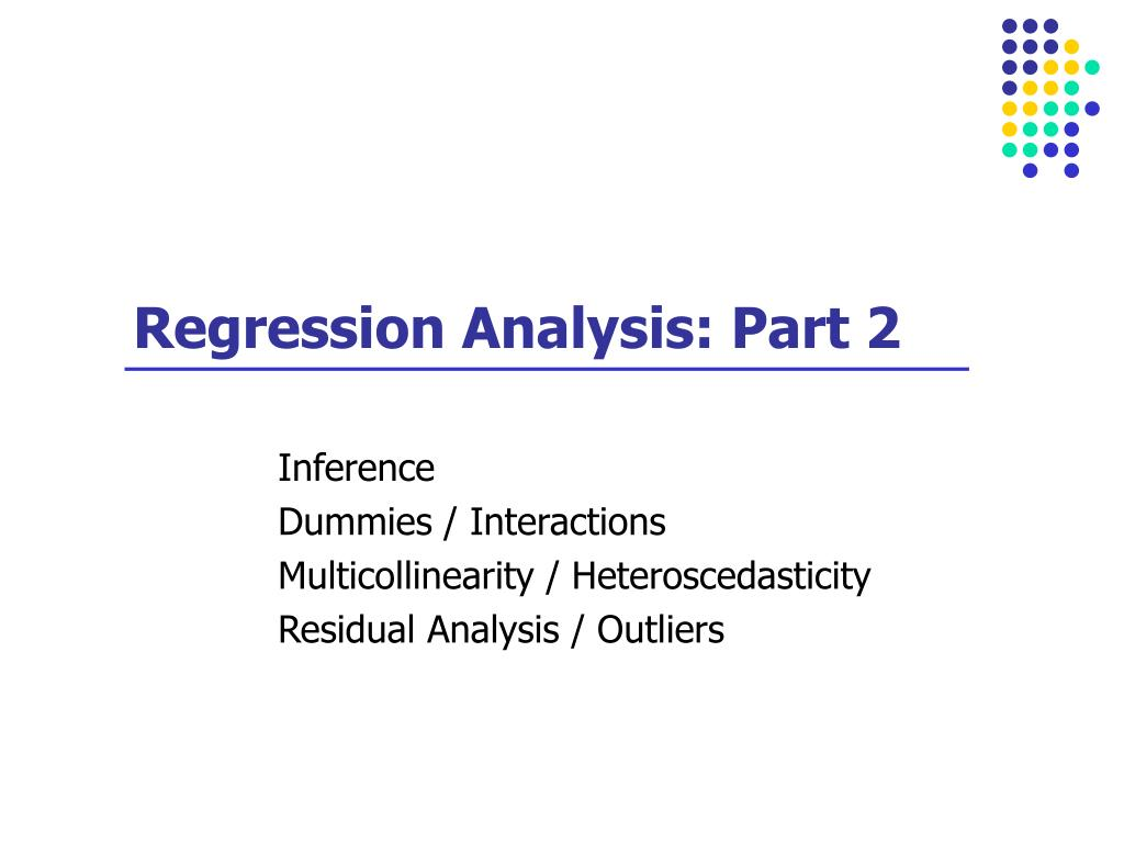 regression analysis part 2 l.