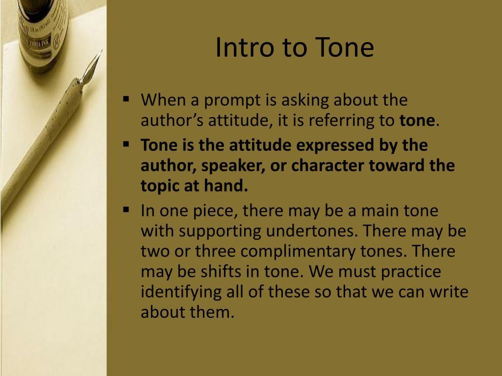 Intro to Tone