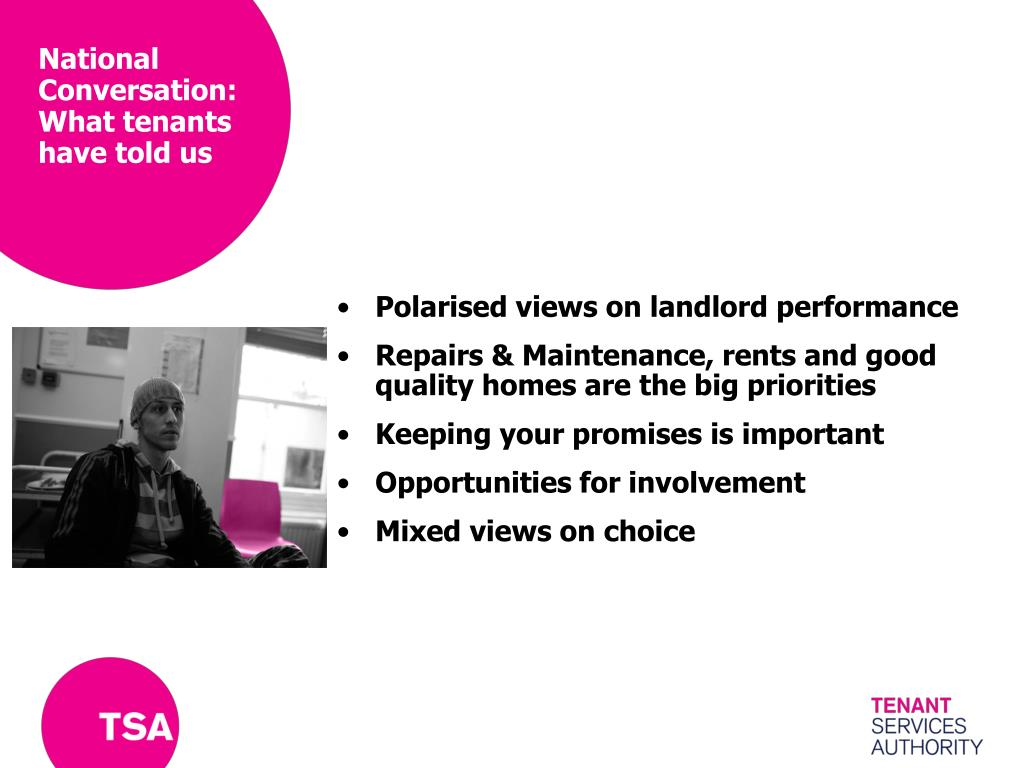 National Conversation: What tenants have told us