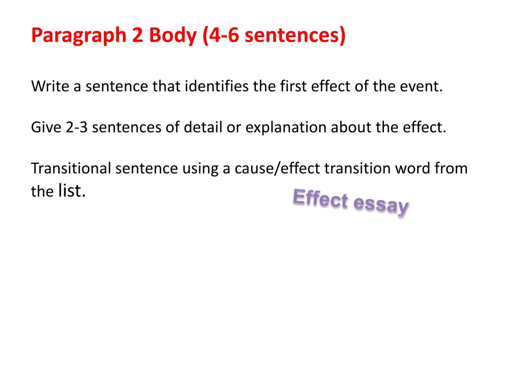cause-and-effect explanation essay Stuck writing a cause and effect essay we have many cause and effect example essays that answers many essay questions in cause and effect definition essays.